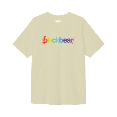 blackbear Rainbow Cream Logo Tee