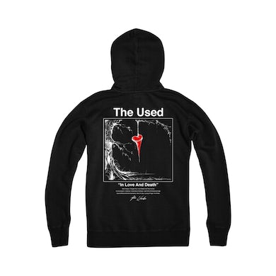 The Used In Love And Death Zip Hoodie