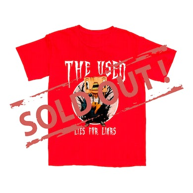 The Used Lies For The Liars Anniversary Tee