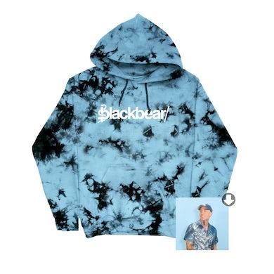 blackbear everything means nothing tie dye hoodie + digital album