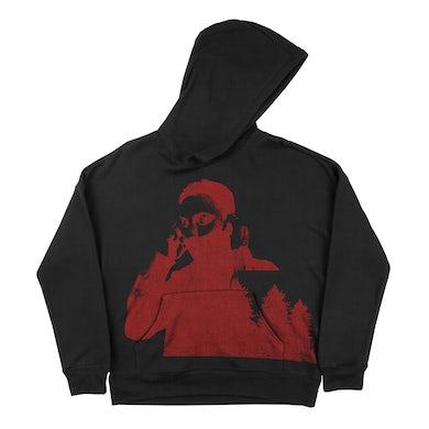 blackbear U LOVE U HOODIE - RED