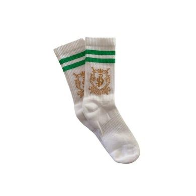 blackbear Misery Lake Crest Gym Socks