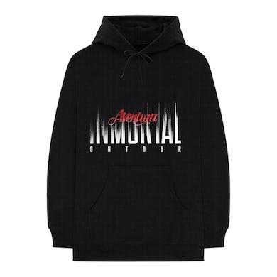 Aventura Inmortal Tour Black Hoodie