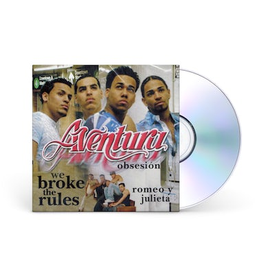 Aventura We Broke the Rules CD