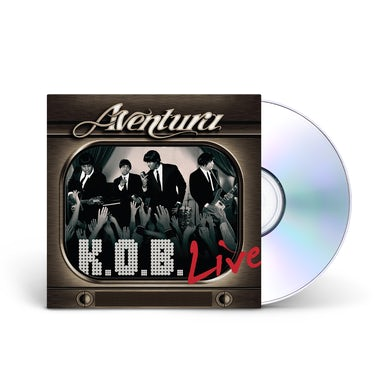 Aventura K.O.B. Live CD/DVD