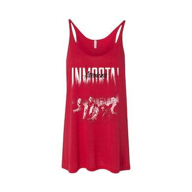 Inmortal Tour Red Tank Top