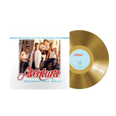 Aventura Generation Next Ltd. Ed. Gold LP (Vinyl)