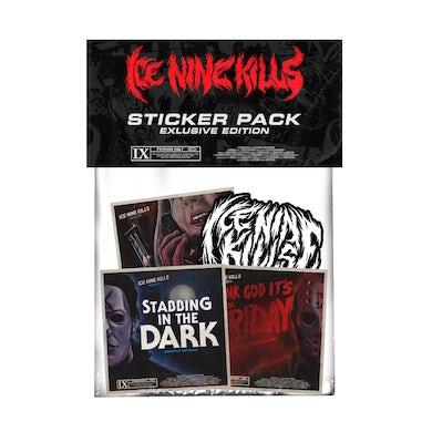 ICE NINE KILLS Psycho Sticker Pack