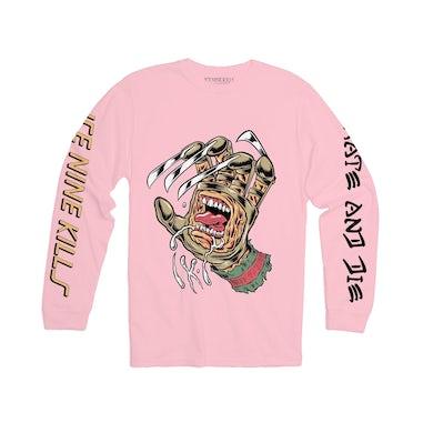 ICE NINE KILLS Skate & Die Long Sleeve - Pink