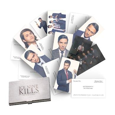 ICE NINE KILLS Death Card Set w/ Custom Holder + Magnet