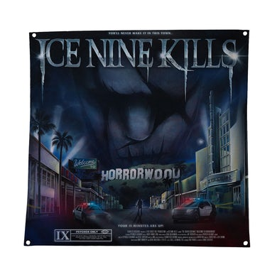 ICE NINE KILLS Welcome To Horrorwood Flag