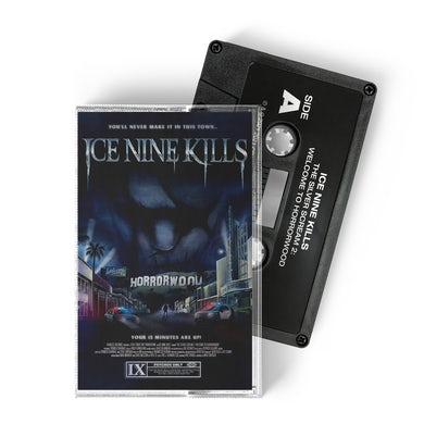 """ICE NINE KILLS The Silver Scream 2: Welcome To Horrorwood (Standard Edition) """"VHS Black"""" Variant"""