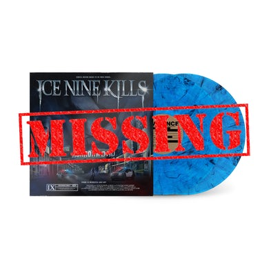"""ICE NINE KILLS The Silver Scream 2: Welcome To Horrorwood (Standard Edition) """"Bluey Lewis"""" Variant LP - SOLD OUT (Vinyl)"""