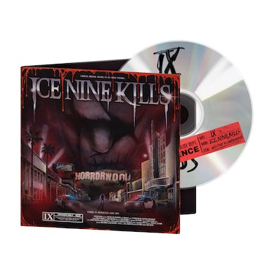 ICE NINE KILLS The Silver Scream 2: Welcome To Horrorwood (Deluxe Bloodshed Edition) CD