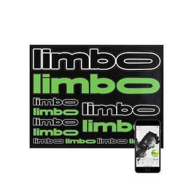 Aminé limbo Sticker Sheet + Album Download