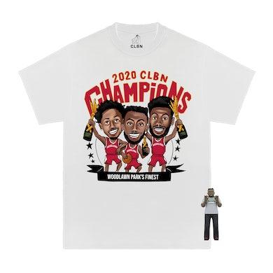 Woodlawn Park Champions Shirt + Sticker