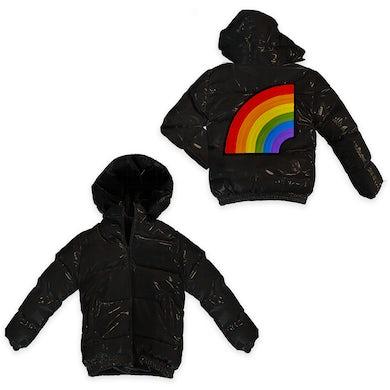 6ix9ine Trollz Men's Puffer Jacket - Black