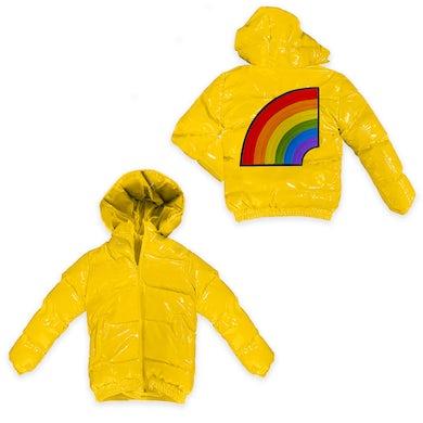 6ix9ine Trollz Men's Puffer Jacket - Yellow