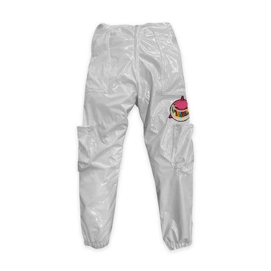 6ix9ine Trollz Shark Pants - White
