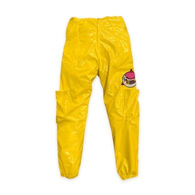 6ix9ine Trollz Shark Pants - Yellow
