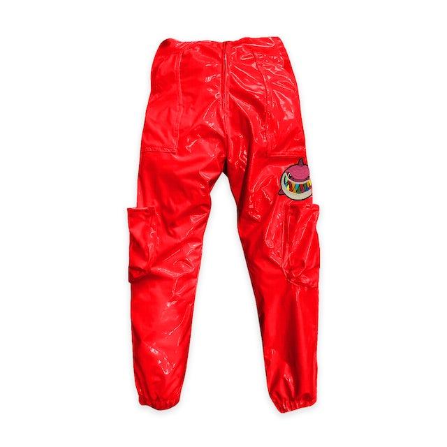 6ix9ine Trollz Shark Pants Red