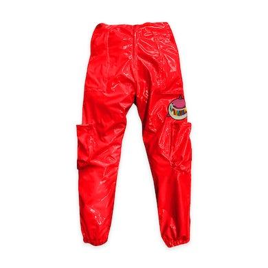 6ix9ine Trollz Shark Pants - Red