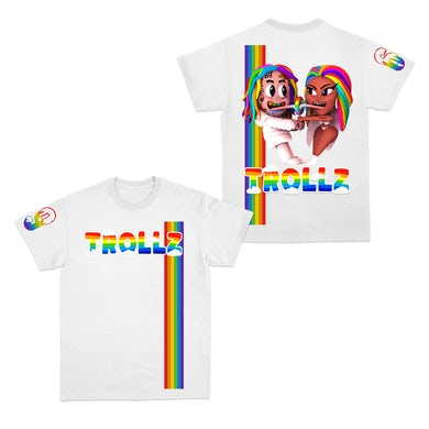 6ix9ine Trollz T-Shirt - White