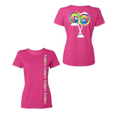 6ix9ine Trollz Stripe Women's Shirt - Pink