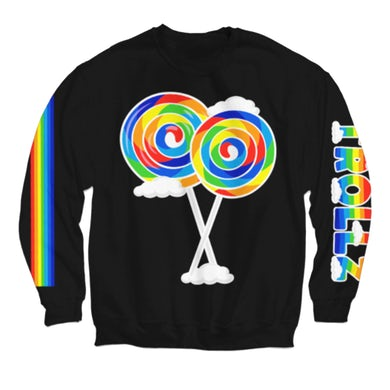 6ix9ine Lollipop Crew Neck - Black