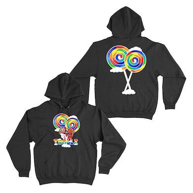 6ix9ine Trollz Art Hoodie - Black
