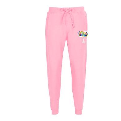 6ix9ine Lollipop Joggers - Pink