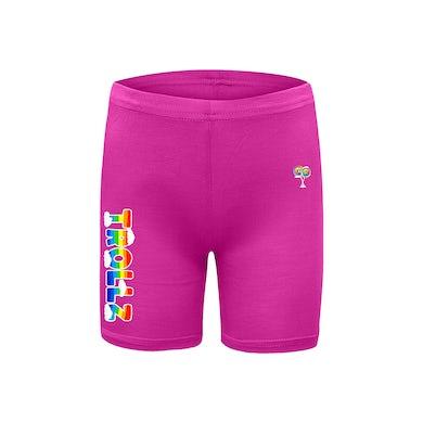 6ix9ine Trollz Fitted Shorts - Pink