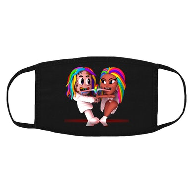 6ix9ine Trollz Art Facemask