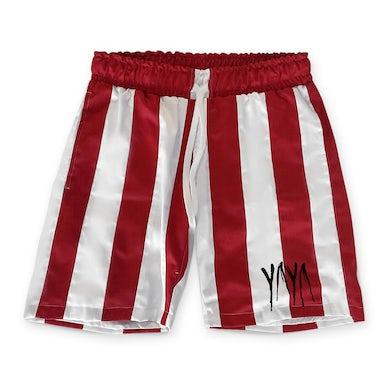 6ix9ine Yaya Shorts (Red & White)