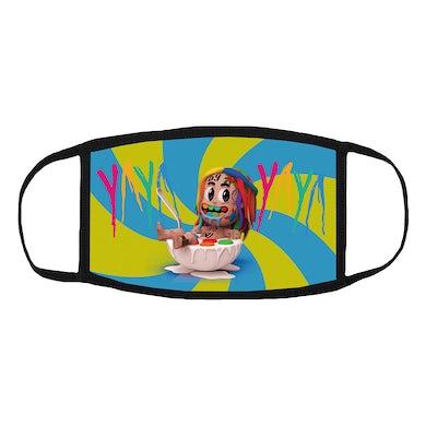 6ix9ine Yaya Spiral Mask