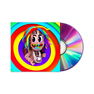 6ix9ine TattleTales CD (Explicit)