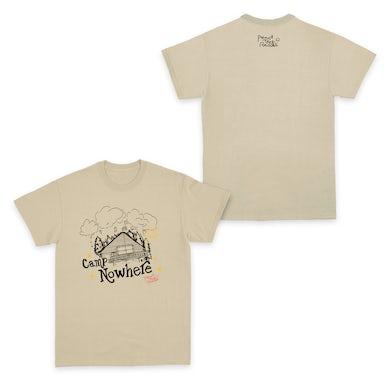 Peach Tree Rascals Camp Nowhere Sand T-Shirt