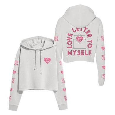 payton Love Letter To Myself Crop Hoodie