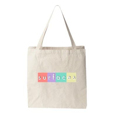 Surfaces Box Logo Tote Bag