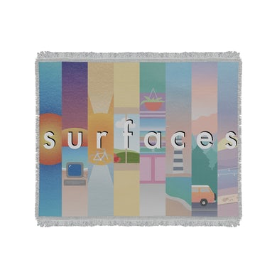 Surfaces Woven Blanket
