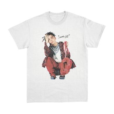 Iann Dior Photo T-Shirt - White