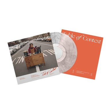 "Table of Context 12"" Vinyl (Ultra Clear w/ Black Smoke Limited Edition)"