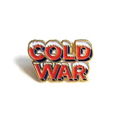 Cold War Enamel Pin