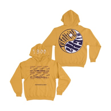 TyFontaine WATS Hoodie - Yellow