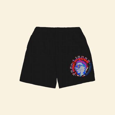 Lupe Fiasco's Food & Liquor 60's Black Shorts