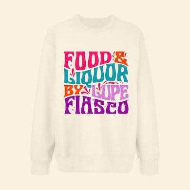 Lupe Fiasco's Food & Liquor 60's Cream Crewneck
