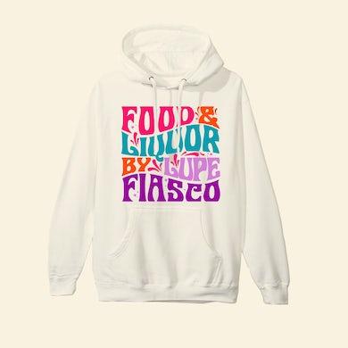 Lupe Fiasco's Food & Liquor 60's Cream Hoodie