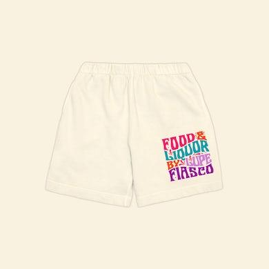 s Food & Liquor 60's Cream Shorts