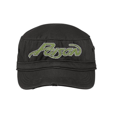 Poison Swallow This Bling Military Cap