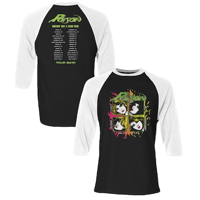 Poison Four Piece (baseball tee)
